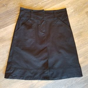 H&M Black Short Skirt